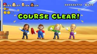 Mii characters are playable during the special game modes.