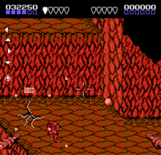 Battletoads shows another type of second-person perspective.