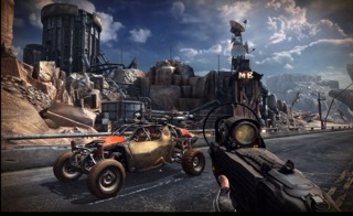 Guns and dune buggies: some of the most common things you can find in the post-apocalyptic wastelands of Earth.