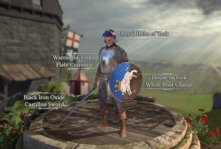 House of York Deluxe Armor.