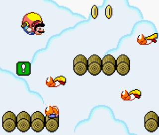 Mario with Cape