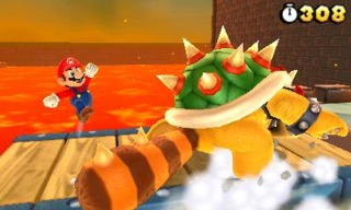 Bowser's packing heat.