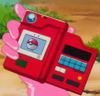 Ash Ketchum's Pokédex from Episode 1 of the anime.