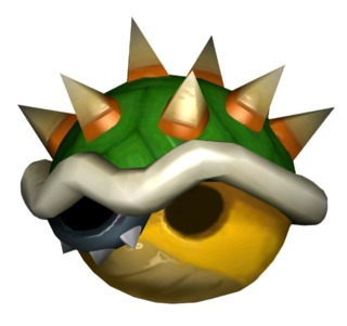 Bowser's Shell from Mario Kart: Double Dash!!