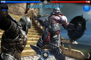Combat in Infinity Blade