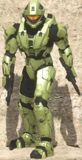 A player brandishing the Recon Armor, formerly given to exceptional community members.