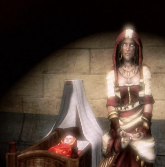 Theresa as she appears in both Fable II and III