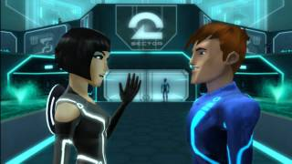 The art style is different from Tron Evolution