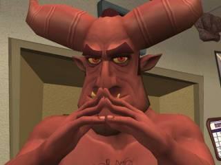 Satan from Sam & Max.