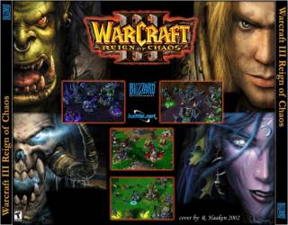 The four races of Warcraft III.