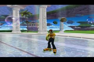 Beat, in Sega Super Star Tennis.