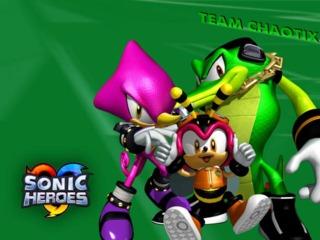 Team Chaotix.