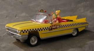 The Crazy Taxi RC car.