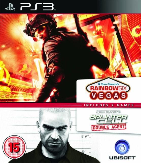 Splinter Cell Agent and Rainbow Six Vegas Double Pack