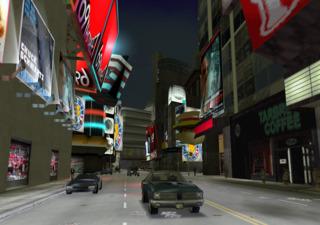 Times Square spoof in GTA III.
