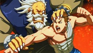 Batsu's ending in Tatsunoko vs. Capcom
