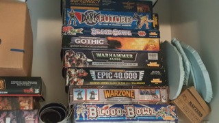 Games Workshop has a huge collection of oft-forgotten tabletop games.