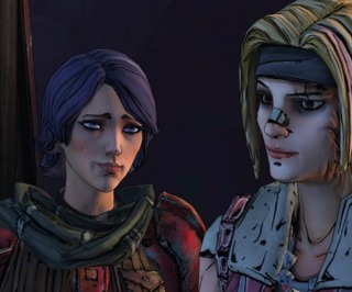 Athena and Janey from Tales from the Borderlands.