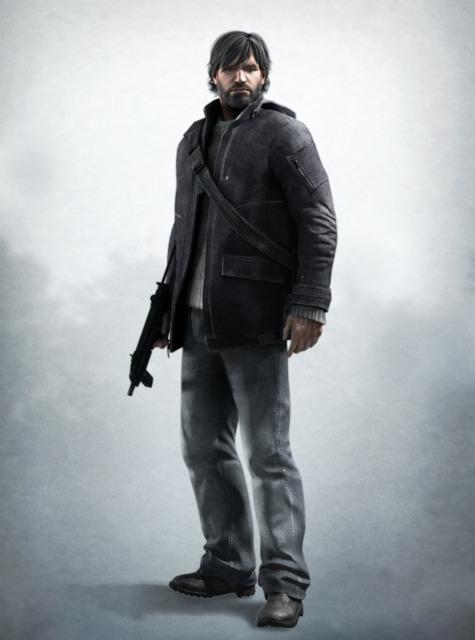 Original design for Sam Fisher in Splinter Cell: Conviction