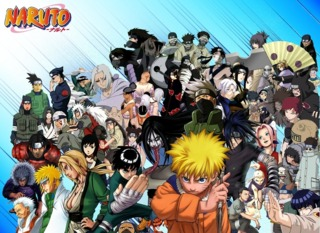 Group Picture of all Naruto Characters