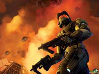 Master Chief in Halo 2