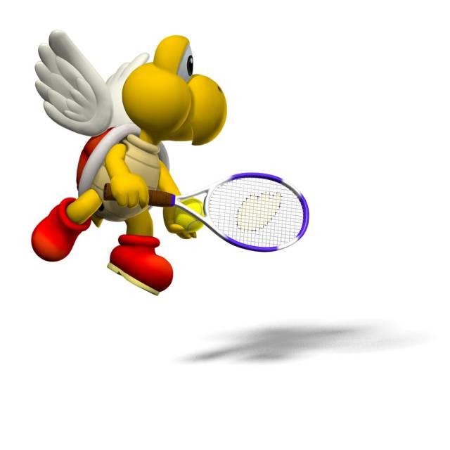 Paratrooper in Mario Power Tennis