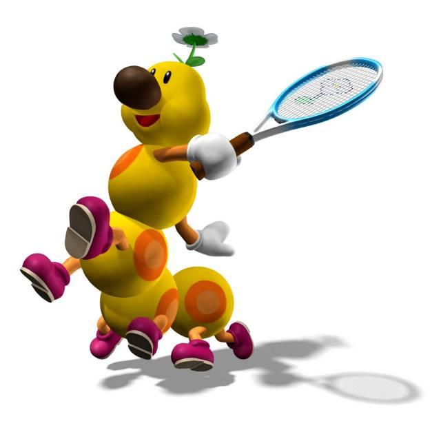 Wiggler in Mario Power Tennis