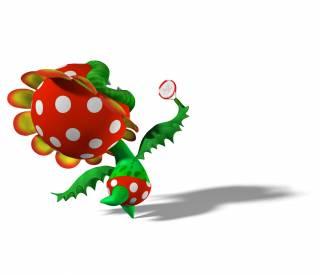 Petey Piranha in Mario Power Tennis
