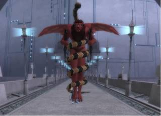 Mitra/Mithra's current form as seen in Shin Megami Tensei: Imagine.