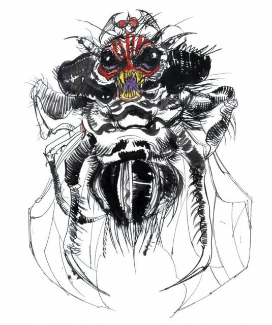 Amano's Beelzebub.