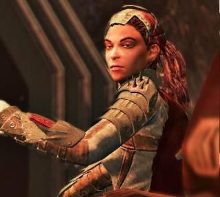Samanya, protagonist of Demons of the Badlands.
