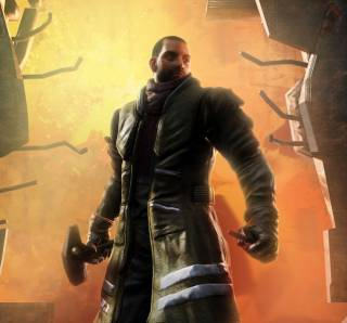 Alec Mason, the game's main protagonist.