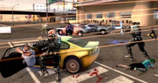 One of the most well known images from Crackdown