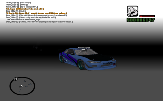 Silvia S15 mod in San Andreas Multiplayer, albeit with one of the bugs that can be encountered.