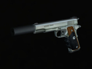 Hitman: Contracts suppressed Silverballer