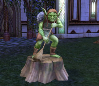 A typical depiction of a Goblin in Lord of the Rings