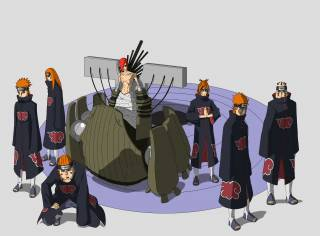 Pain/Nagato with his six paths of pain