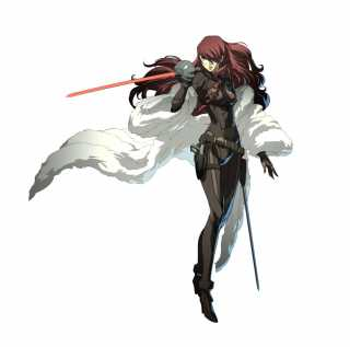 20 year-old Mitsuru as seen in Persona 4 Arena