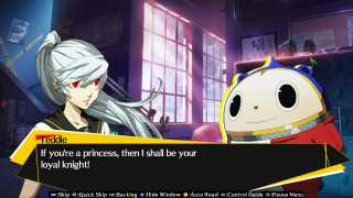 Teddie meets the student council president.
