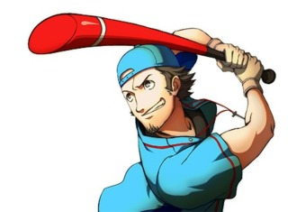 Persona 3 character Junpei Iori as he appears in Persona 4 Arena Ultimax.