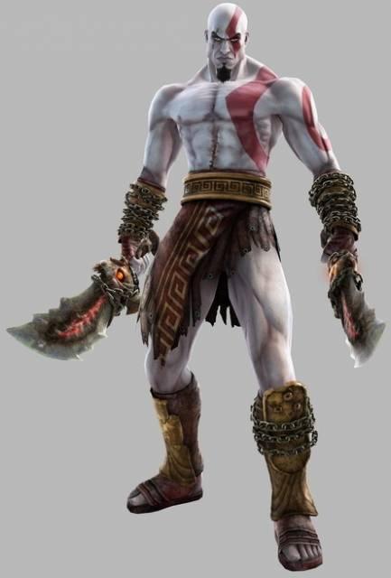 Kratos, God of War