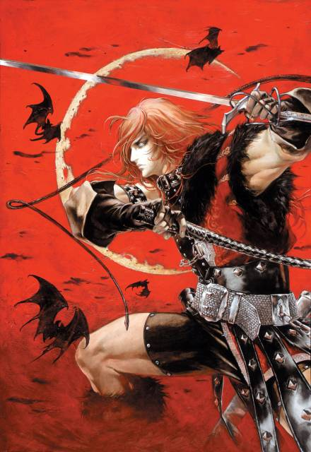 Simon Belmont, the game's main protagonist (sporting his 2001 redesign).