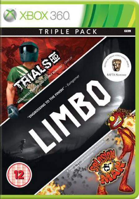 Xbox Live Hits Collection: Limbo,Trials HD and Splosion Man