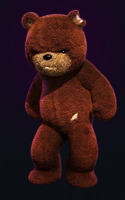 Naughty Bear.