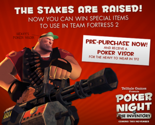 Players could receive a free hat for Team Fortress 2 for pre-purchasing.