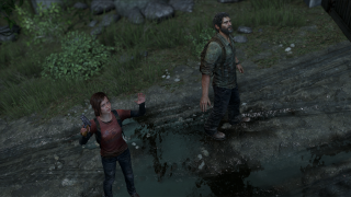 The two co-protagonists, Ellie and Joel.