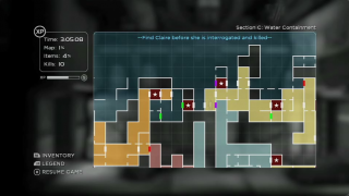 The World of Shadow Complex is surprisingly big, with many shortcuts here and there.