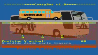 The School Bus is crazy with its high speed action!