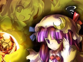 Patchouli is deeply bothered with her library constantly being robbed by Marisa.