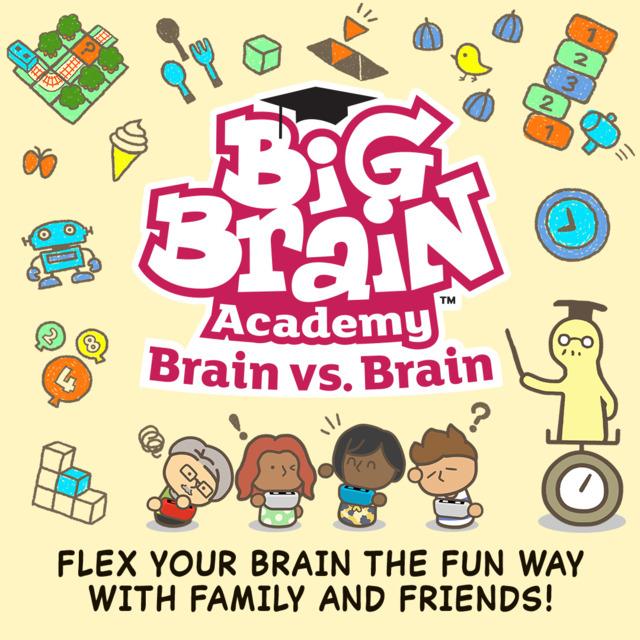Big Brain Academy: Brain vs. Brain